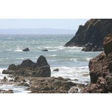 Coastline Canvas Framed