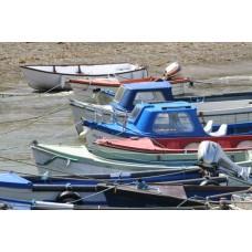 Boats Canvas Framed